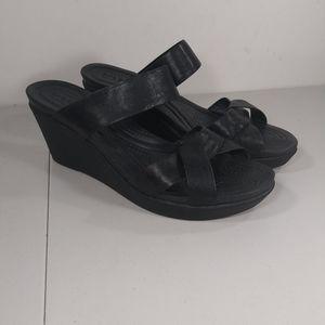 Crocs dual Crocs comfort wedge sandals